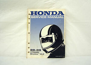 93 honda vt600c shop manual