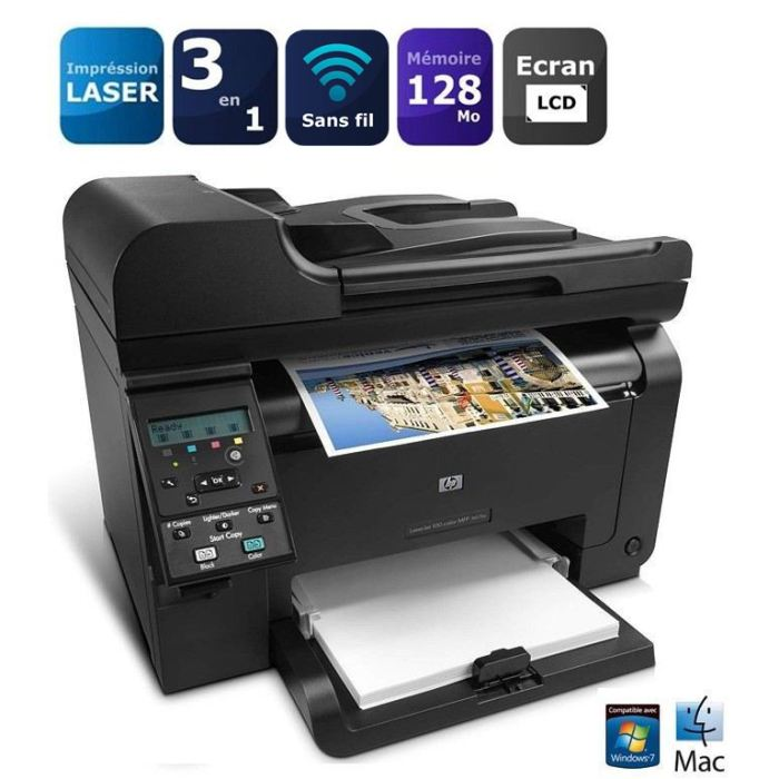 hp 100 color mfp m175nw manual
