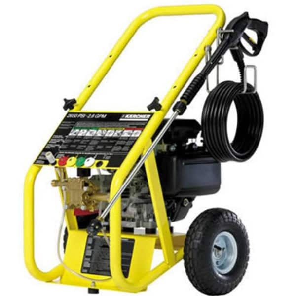 karcher power washer honda manual