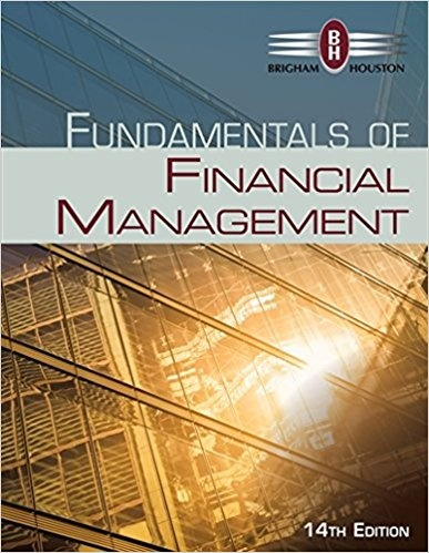 solution manual of financial management by brigham 14th edition