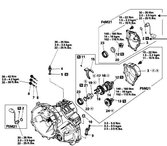 85 honda transmission shop manual