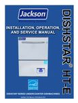 jackson dishstar ht parts manual