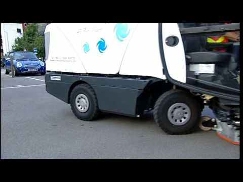 part manual johnson street sweeper