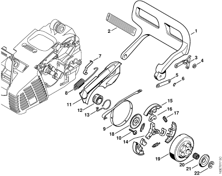 stihl ms 311 parts manual